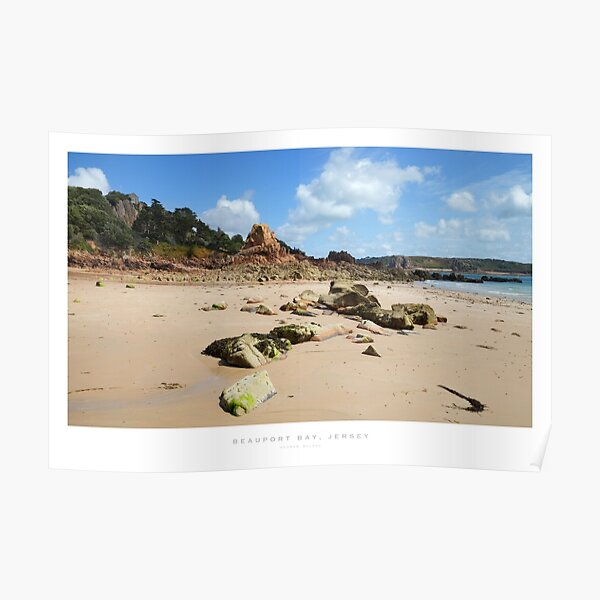 Beauport Bay, Jersey Poster
