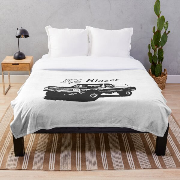 1971 Chevrolet K5 Blazer Throw Blanket