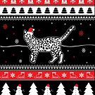 Bengal Cat Ugly Christmas von ilovepaws