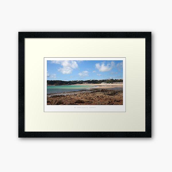 St Brelades Bay, Jersey Framed Art Print