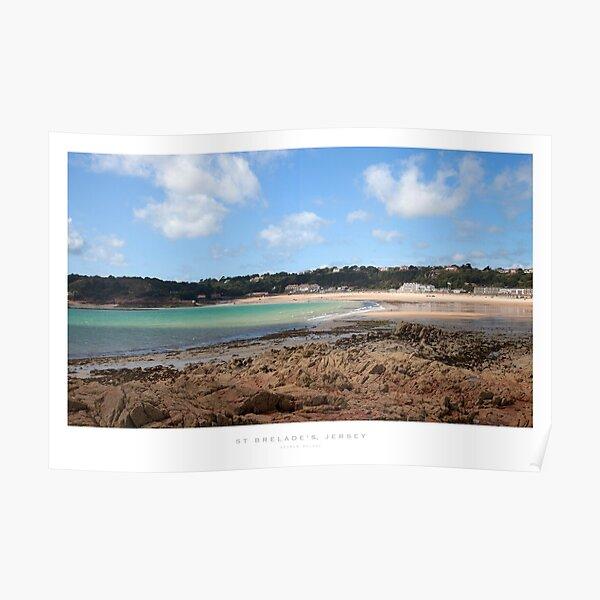 St Brelades Bay, Jersey Poster
