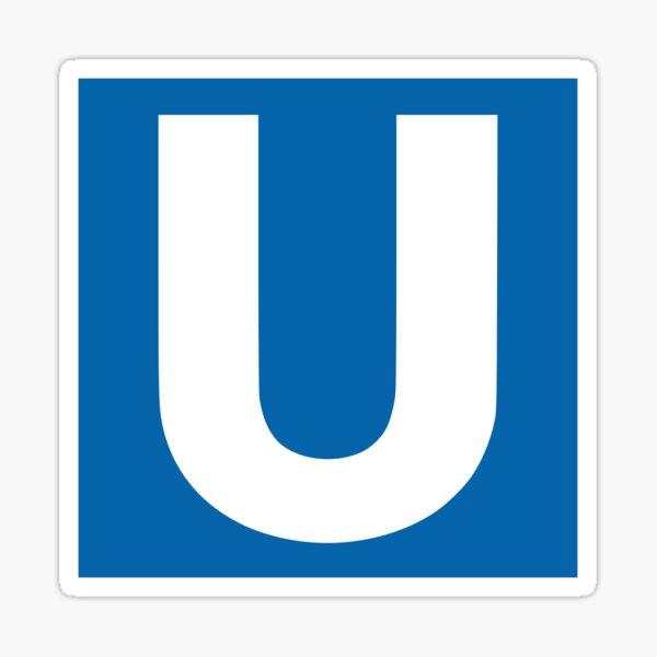 U-Bahn Berlin Sticker