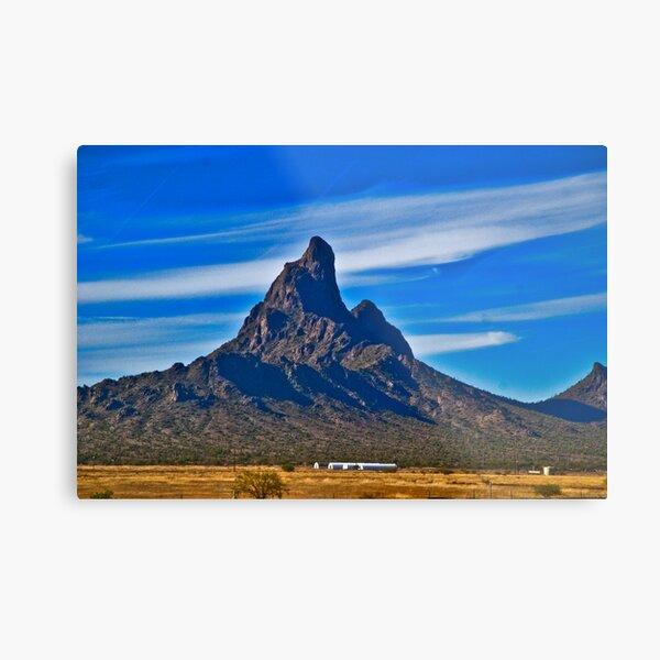 Picacho Peak Metal Print