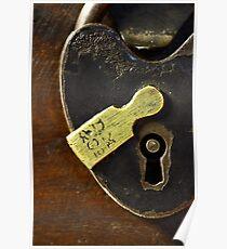 Heart-Shaped Lock Poster