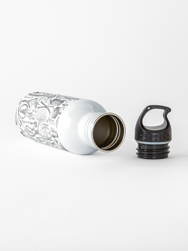 Alternate view of Medical Condition B&W Water Bottle
