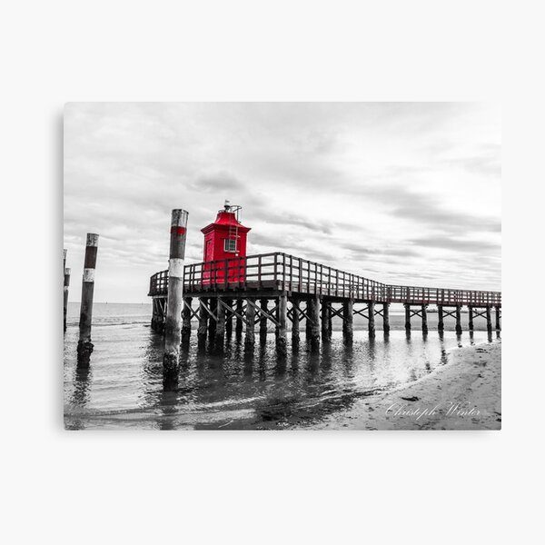 Christoph Winter - Faro Rosso Neu - Lignano Sabbiadoro Leinwanddruck