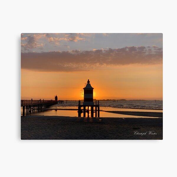 Christoph Winter - Faro Sonnenaufgang - Lignano Sabbiadoro Leinwanddruck