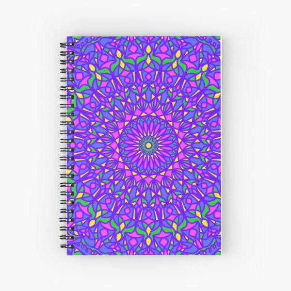 Pastel Party Spiral Notebook