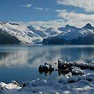 Cold Day at Garibaldi Lake by Michael Garson