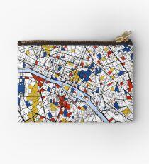 Paris Mondrian Karte Täschchen