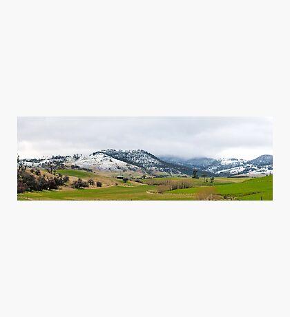 Highland Snow Photographic Print