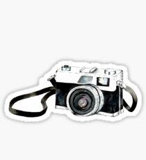 Vintage camera Sticker