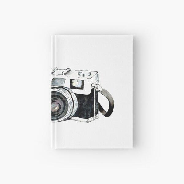 Vintage camera Hardcover Journal