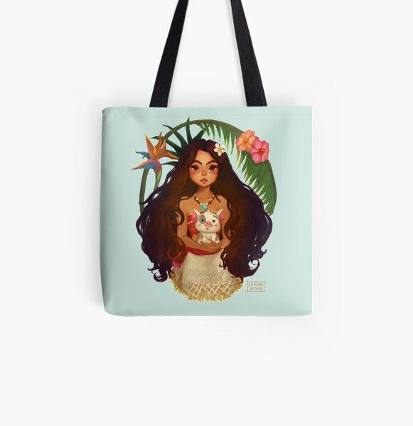 Momo All Over Print Tote Bag