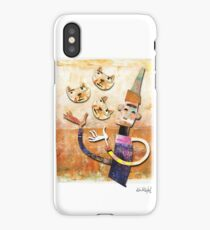 Cat Juggler iPhone Case/Skin