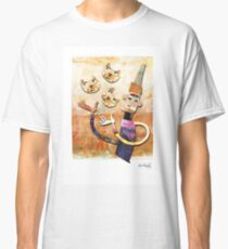Cat Juggler Classic T-Shirt