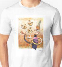 Cat Juggler T-Shirt
