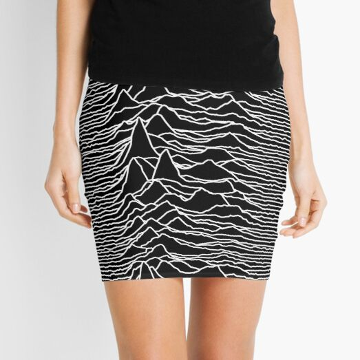 Unknown Pleasures [J01]   Mini Skirt