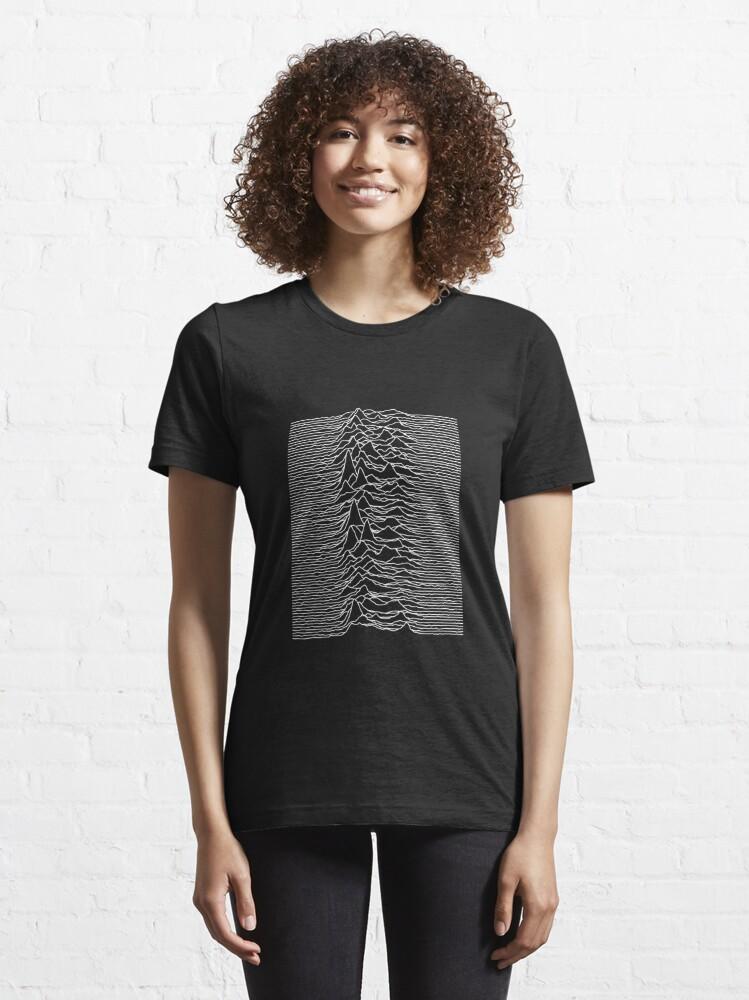 Alternate view of Unknown Pleasures [J01]   Essential T-Shirt