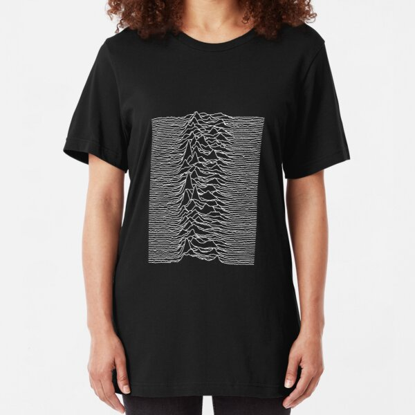 Unknown Pleasures [J01]   Slim Fit T-Shirt