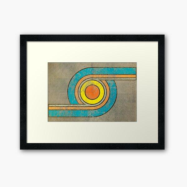 Turn Framed Art Print