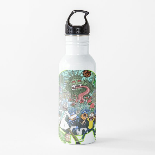 Rick and Morty Earth Dimension C-137 Interdimensional Twist Water Bottle