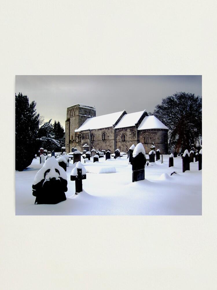 Alternate view of St Cuthbert's Dalmeny Photographic Print