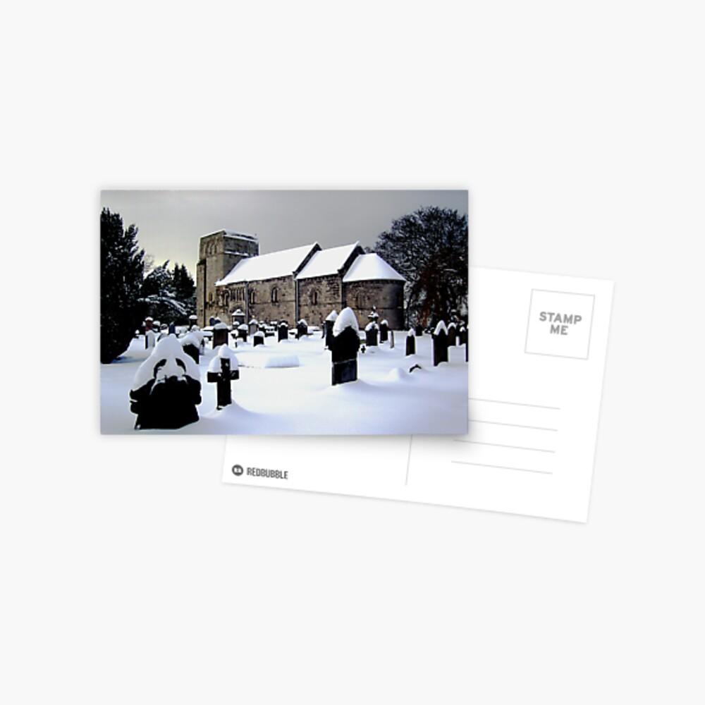 St Cuthbert's Dalmeny Postcard