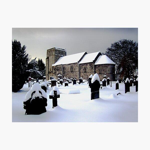 St Cuthbert's Dalmeny Photographic Print