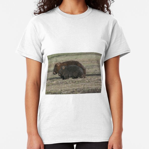 Wombat and Young Classic T-Shirt