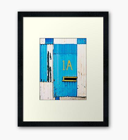 1A Framed Print