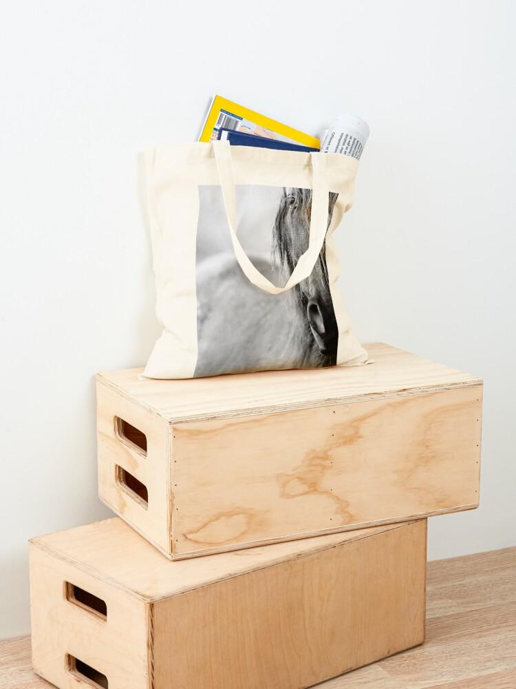 Alternative Ansicht von Pferd Stofftasche