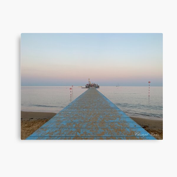 Christoph Winter - Lignano Pineta - La Pagoda Leinwanddruck