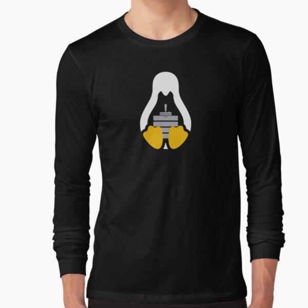 LinuxGSM Penguin White  Long Sleeve T-Shirt