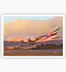 Emirates Airbus A380 A6-EOF Sticker
