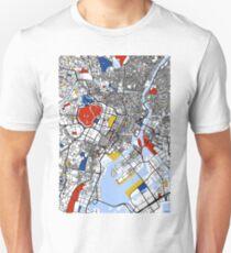 Tokyo Mondrian map T-Shirt