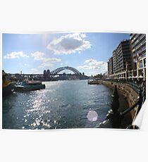 Sydney Harbour Bridge across the Harbour Poster