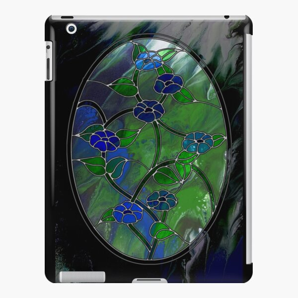 Glass Flowers iPad Snap Case