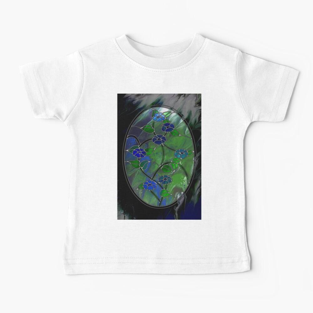 Glass Flowers Baby T-Shirt