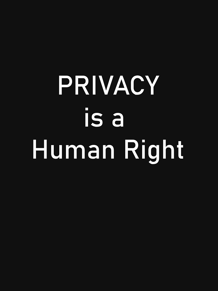 Privacy is a Human Right by catfin