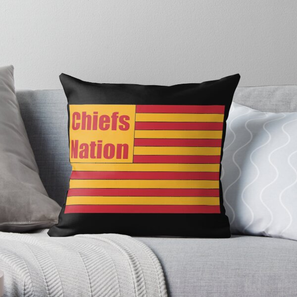 Chiefs Nation Throw Pillow