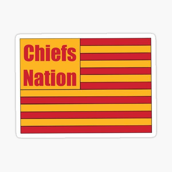 Chiefs Nation Sticker