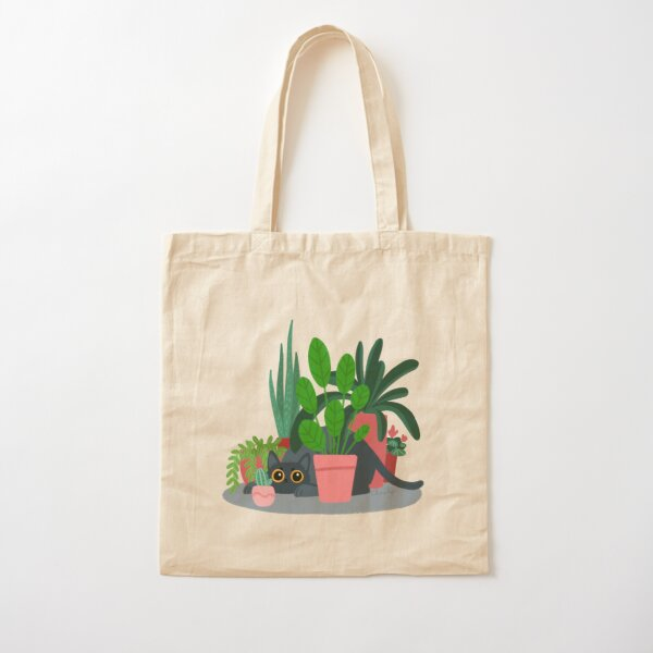 House panther Cotton Tote Bag
