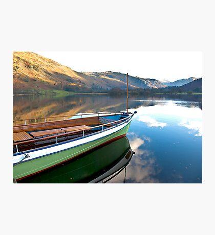 Sailing on Ullswater. Photographic Print