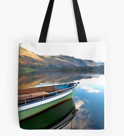 Sailing on Ullswater. Tote Bag