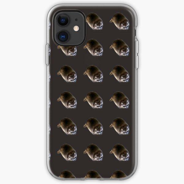 Fat Raccoon  iPhone Soft Case