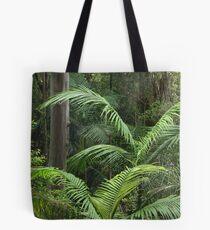 Subtropical rainforest Tote Bag