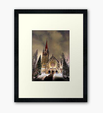Saintly Steeples 2 Framed Print