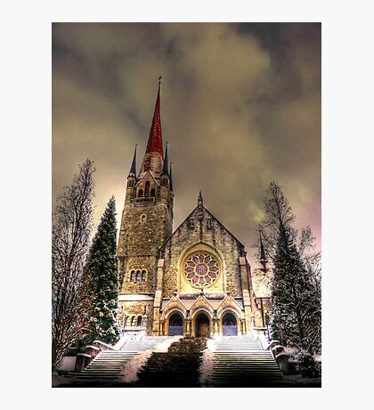 Saintly Steeples 2 Photographic Print