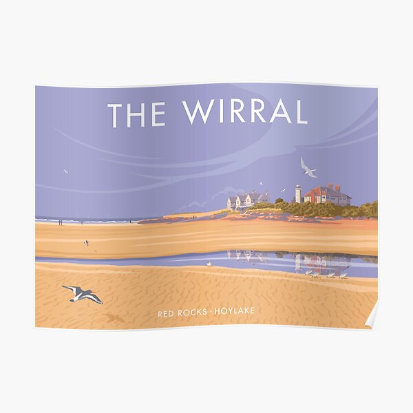 Red Rocks the Wirral Poster